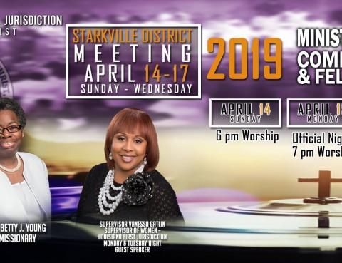 Starkville District Meeting